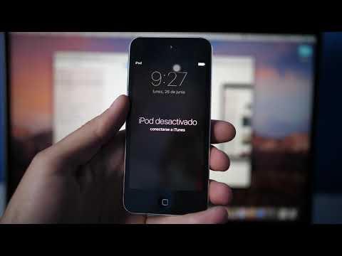 📱 Solución 2019: IPhone O IPod Esta Desactivado Conectarse A ITunes