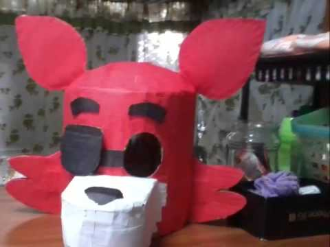Fnaf Foxy Head Costume Youtube