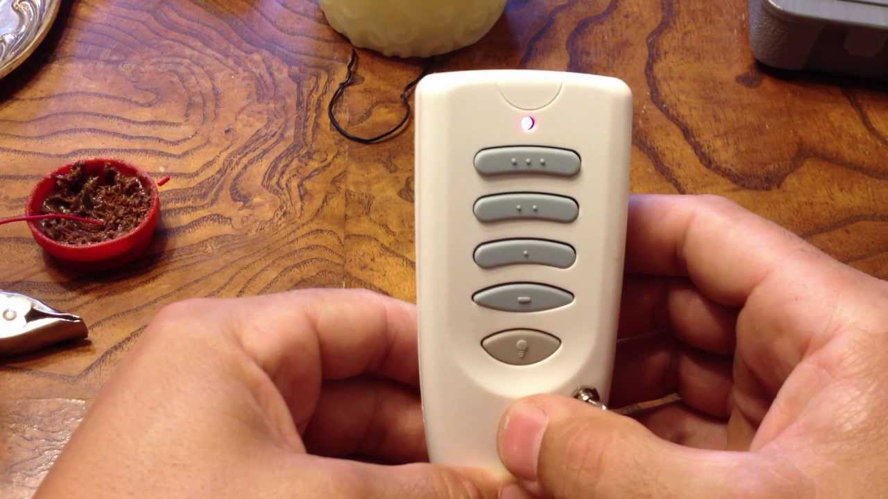 Hunter Fan Remote Fast Battery Drain Fix