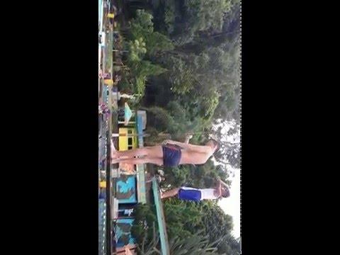 Nude Boy's want jump on the pool. Bugil rame-rame!