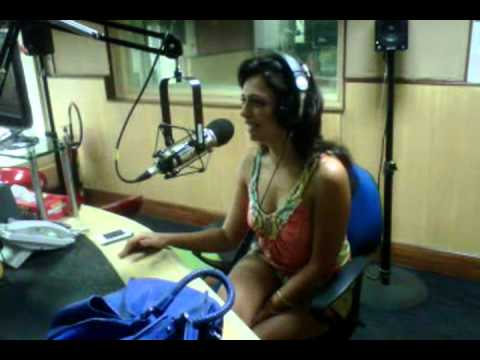 ROSHINI.wmv  kasa kai mumbai with RADIOCITY 91.1 FM WITH Salil and Archana