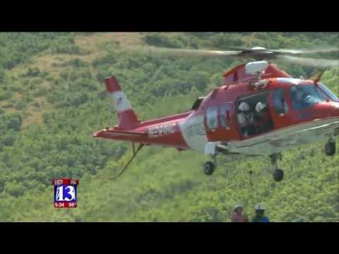 FOX 13: Intermountain Life Flight trains to rescue injured Utahns