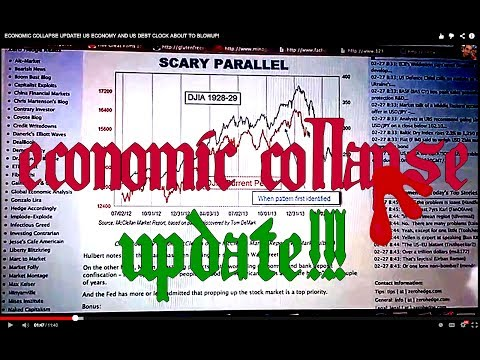 ECONOMIC COLLAPSE UPDATE! US ECONOMY AND US DEBT CLOCK ABOUT TO BLOWUP!