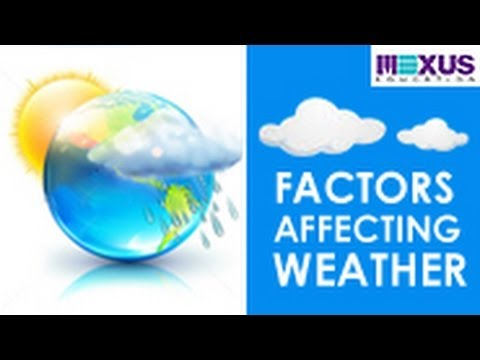 factors that influence rainfall in the 6 factors affecting the climate conditions of india article shared by the climate plays an important role in affecting the economic pattern, way of life, mode of living, food habits, costumes and even the behavioural responses of the people.