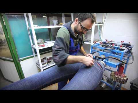 Textile Blue Wash - Washing Dyeing Finishing Logistics