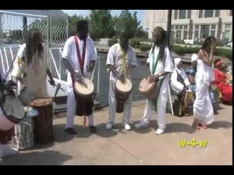 The Blessing of the River - Phila. Middle Passage Ceremony - June 2, 2013