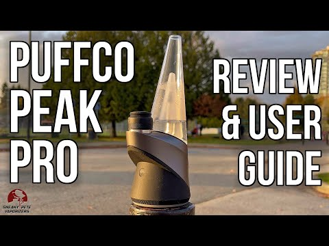 Puffco Peak Pro Review | Easy, Effective & Pricey Concentrate Vape | Sneaky Pete's Vaporizer Reviews