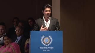 SRK Ted talk speech 2017