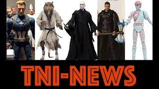 TNINews: New Avengers Endgame Marvel Legends, MAFEX Thor, NECA TMNT, Tron, Harry Potter, & More
