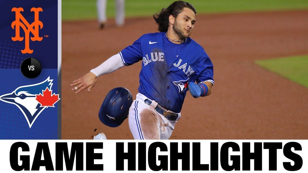 Robbie Ray leads Blue Jays to 3-2 win | Mets-Blue Jays Game Highlights 9/12/20
