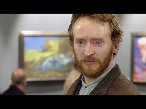 Today, 125 years ago the great painter Vincent van Gogh died from a gunshot wound - he died largely unrecognized and depressed. This Doctor Who clip follows him as he is transported to the present to witness his artistic impact