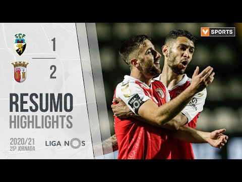 SC Farense Braga Goals And Highlights
