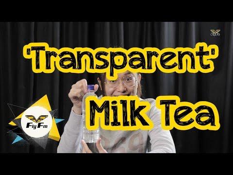 Transparent Milk Tea Fly Reacts