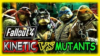 Kinetic VS Super Mutants! - Fallout 4 Funny Moments Gameplay #5 !! - PC Ultra 1080