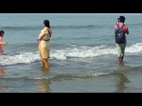 Cox's Bazar Sugandah sea Beach bath in women's and boys
