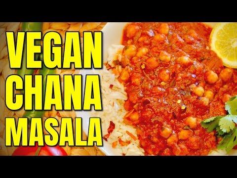 How to Make Vegan Chana Masala Recipe / Vegan Indian Food