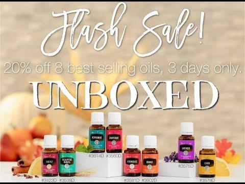 Flash Sales Unboxing - October 2017