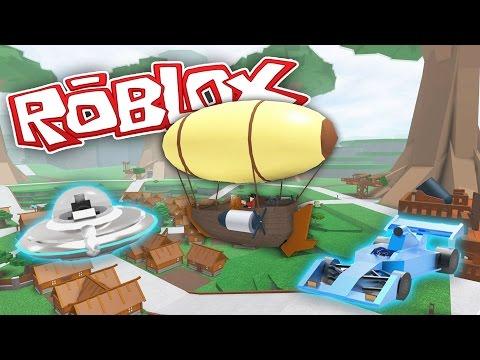 ROBLOX #20: UFO, FORMULE A VZDUCHOLOĎ! | HouseBox