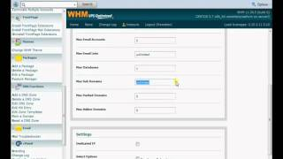 Setting up WHM Cpanel Resellers For The First Time