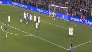 チェルシーFC vs FCディナモ・キエフ  2-1 ゴールハイライト UEFAチャンピオンズリーグ 2015/11/05