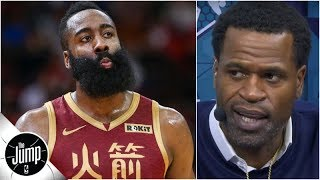 James Harden 'doesn't look like he's focused on winning' - Stephen Jackson | The Jump