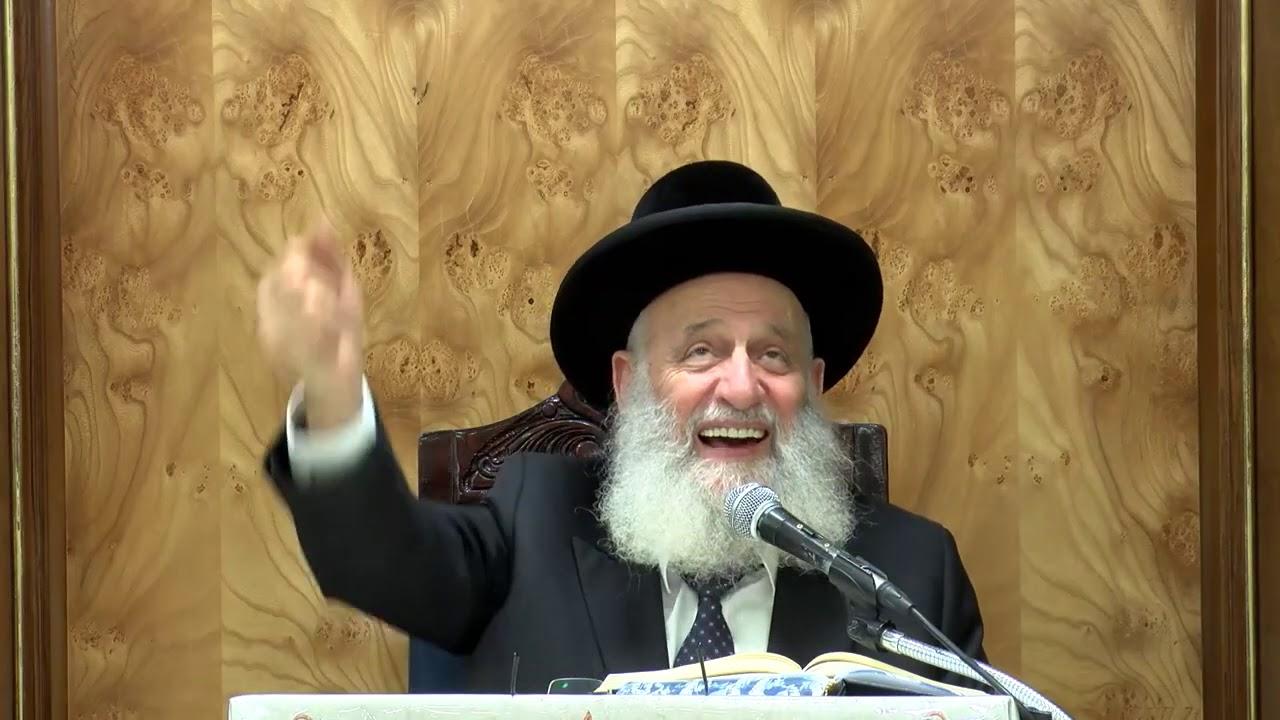 """הרב ראובן אלבז שליט""""א - סוכות חול המועד תש""""פ ישיבת אור החיים"""