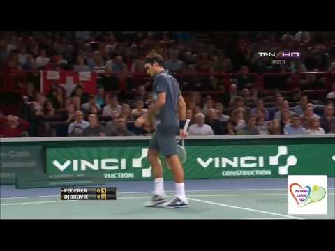 Roger Federer v. Novak Djokovic | Paris 2013 SF Highlights HD