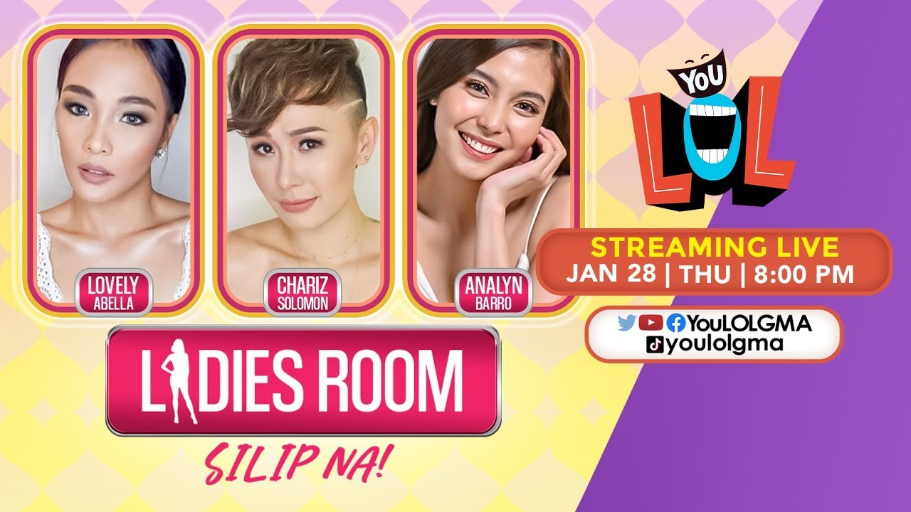 Download Ladies Room: HOKAGE night with the HOT and SEXY 'Bubble Gang' babes! (LIVE) | January 28, 2021