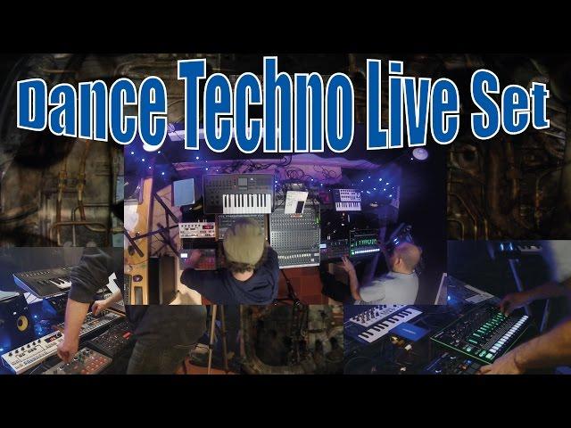 MTM - LIVE DANCE/TECHNO SET - LIVE TEST - Entropy Roland Korg Retro 777 Novation