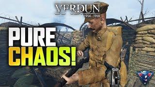 PURE CHAOS! | Verdun Gameplay