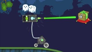 Bad Piggies  - FLY A ROBOT PIG KITE! SHOOTING CRATE!