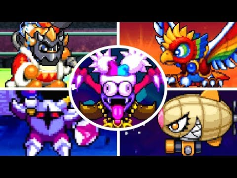 Kirby Super Star Ultra - All Bosses (No Damage)