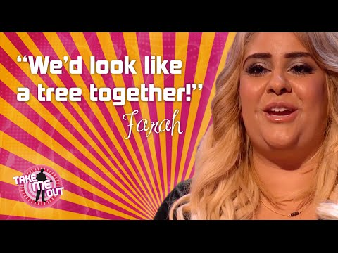 Farah and the tree - Take Me Out - Series 7 - Episode 2