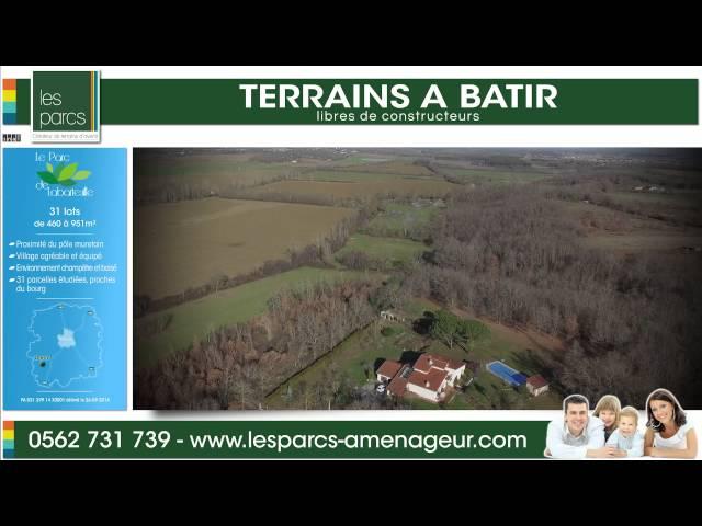Le parc de Labarteuille - Les Parcs <br/>1 vol et 1 montage : 800€ ht <br/>