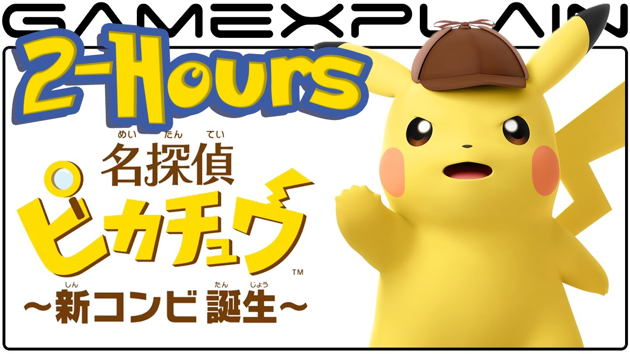 2 Hours Of Detective Pikachu Gameplay Youtube