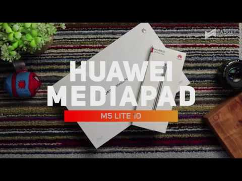 Huawei Mediapad M5 Lite And M Pen Lite Unboxing And Preview