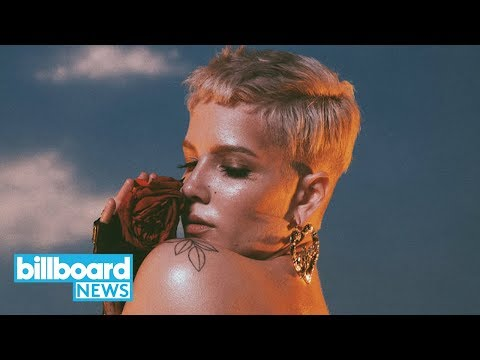 Halsey Earns First No. 1 on Hot 100 With 'Without Me' | Billboard News Mp3