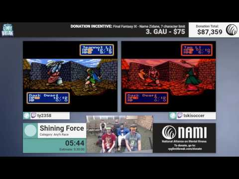 Shining Force (Race) by ty2358 and NoWorries (RPG Limit Break 2017 Part 47)