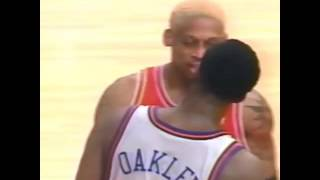 Rodman, Barkley and Zo all try Charles Oakley and get what way more of what they bargained for