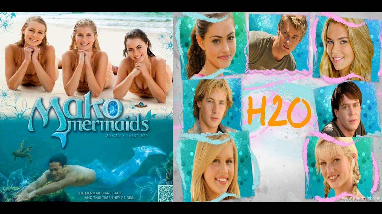 H2o just add water vs mako mermaids mashup kate alexa for Just add water cast