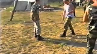 #1 выбиваем нож ножевой бой knife fight Подполковник спецназ ГРУ Лавров Lavrov russian specnaz gru