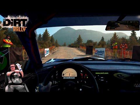 Затащил финал одной правой! Subaru Impreza 2001  Прохождение Dirt Rally