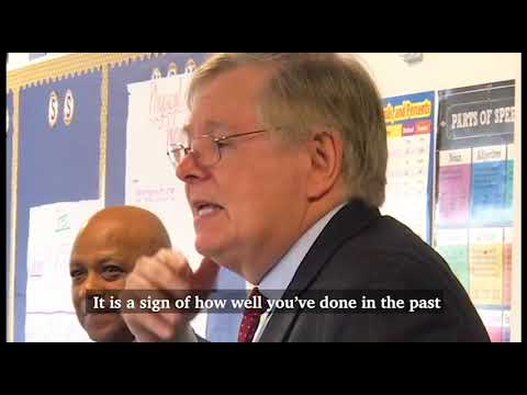 Stamford mayor David Martin visits Stamford Charter School for Excellence