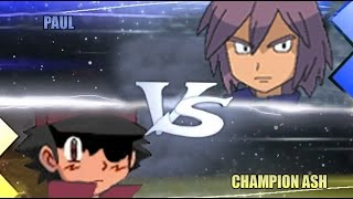 Pokemon Omega Ruby & Alpha Sapphire [ORAS]: Champion Ash Vs Paul