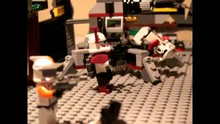 Lego Star Wars-Hot Guns Over Battle Thumbnail