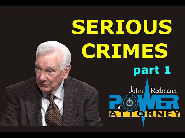 Serious Crimes, part 1