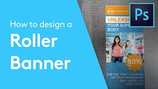 How To Design A Roller Banner In Adobe Photoshop | Solopress Tutorial(Learn how to design a Roller Banner in Adobe Photoshop with our expert, easy-to-follow video tutorial... This video is part of our Adobe Creative series of design ..., 2014-07-01T14:50:06.000Z)