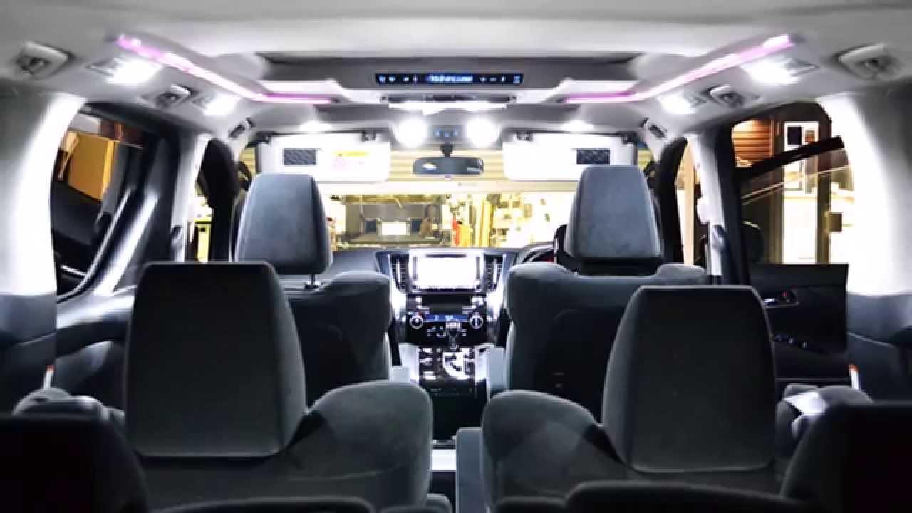 【IRC株式会社】新型 アルファード/ヴェルファイア 車種専用 LED ルームランプセット&H8/H11/H16 80W LEDフォグバルブ ,  YouTube