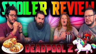 """""""Deadpool 2"""" In-Depth REVIEW and DISCUSSION [Spoilers!]"""