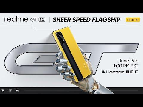 realme GT Livestream Event | Online UK Launch